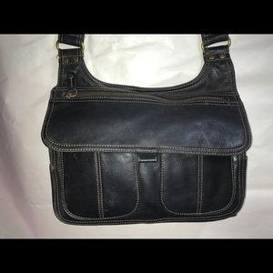 Fossil black  shoulder bag